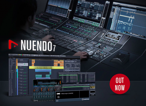 Nuendo 7 is now shipping