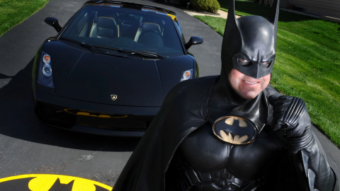 Route 29 Batman is killed after his Batmobile breaks down