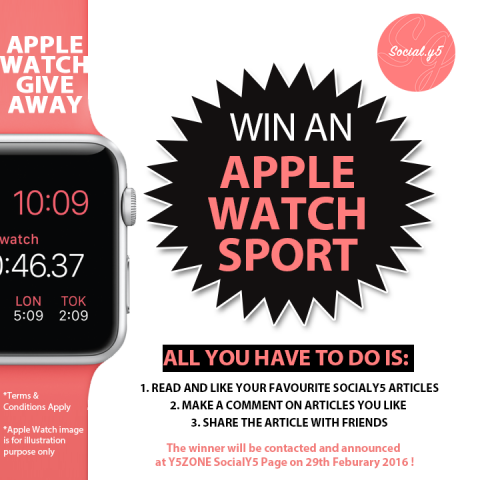 Apple Watch Give Away