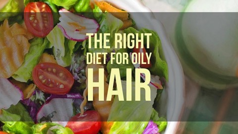 A Diet to Subdue Oily Hair