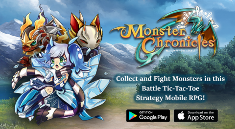 Monster Chronicles – Battle Tic Tac Toe RPG